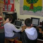 informatička radionica u Dječjem domu