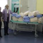 Klaiceva 2013, donacija pidžama i ručnika